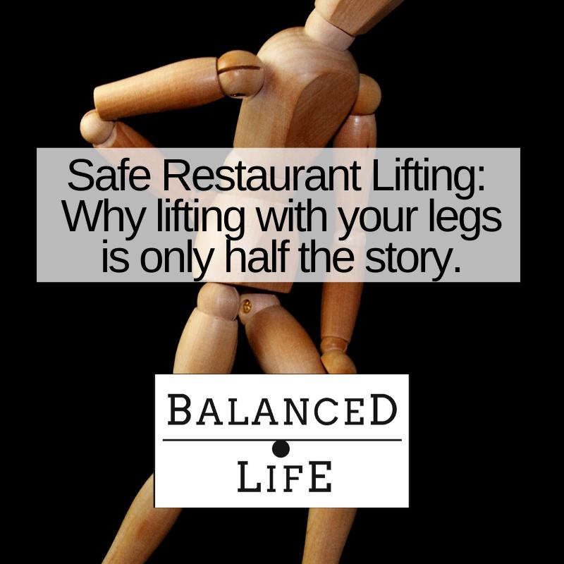 Safe Restaurant Lifting