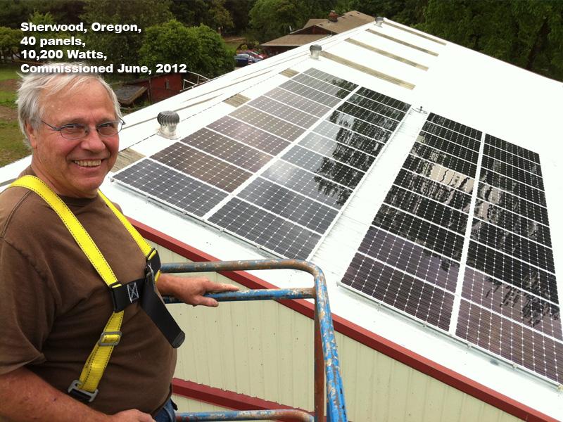 11 kW on Vet Hospital in Sherwood, OR