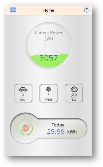 Monitor your solar installation right from your phone.