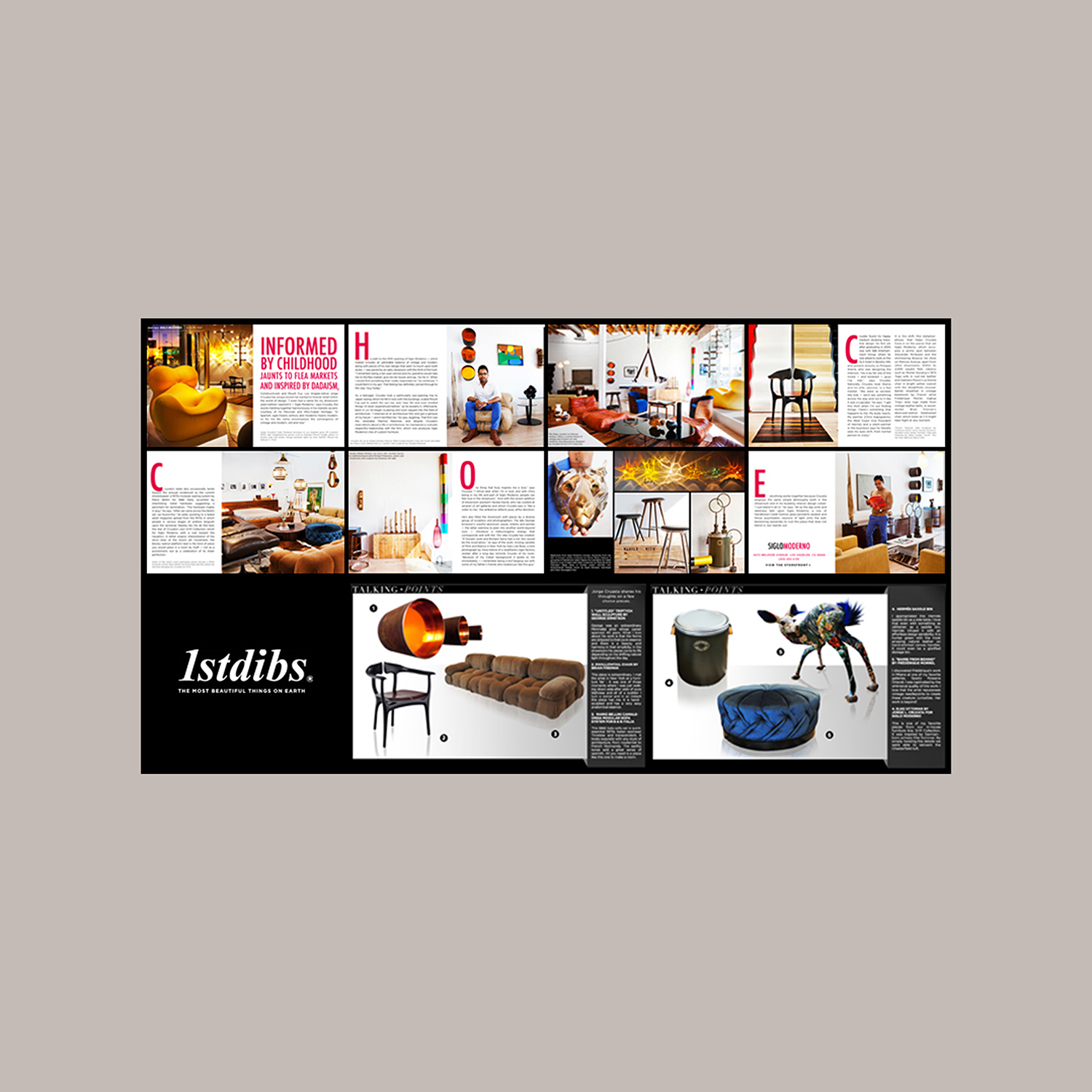 1STDIBS - INFORMED BY CHILDHOOD   Introspective