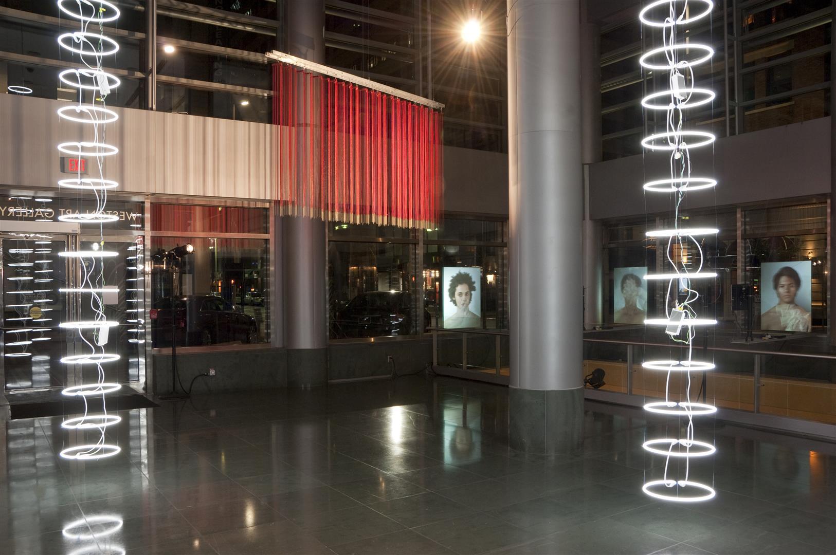 TAINT  - Weston Art Gallery, Cincinnati, Ohio, 2012 / upper gallery installation