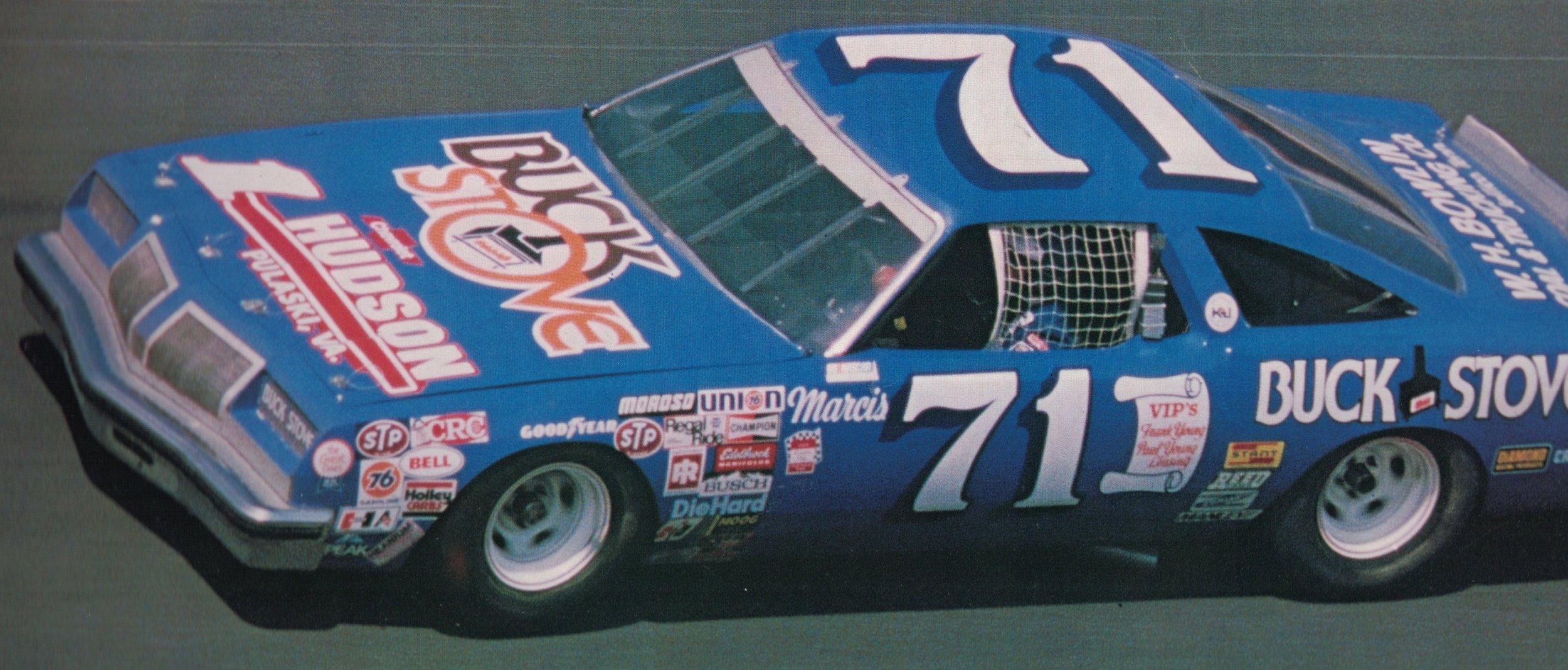 Dave Marcis 1980 Daytona 500