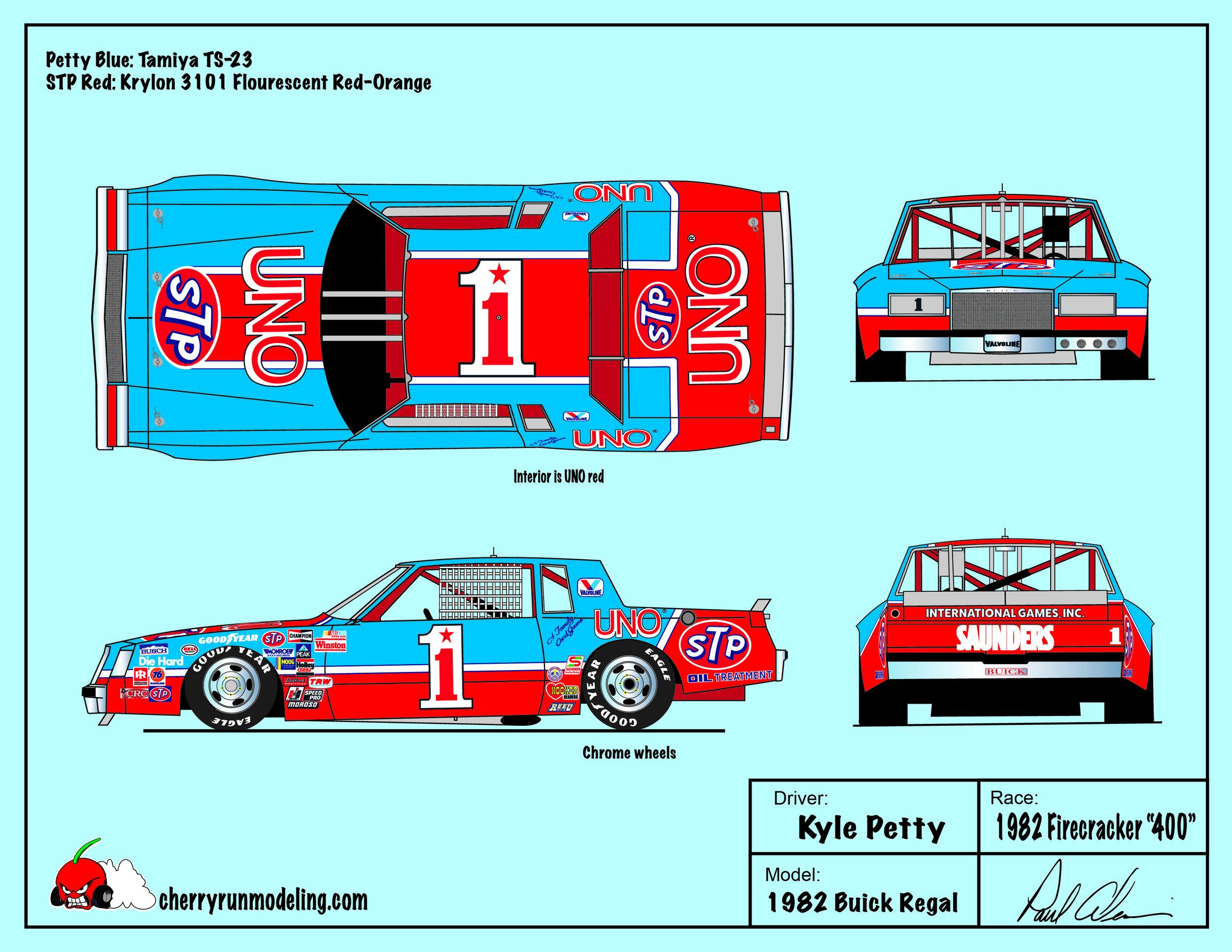 Kyle Petty 1982 Firecracker 400.jpg