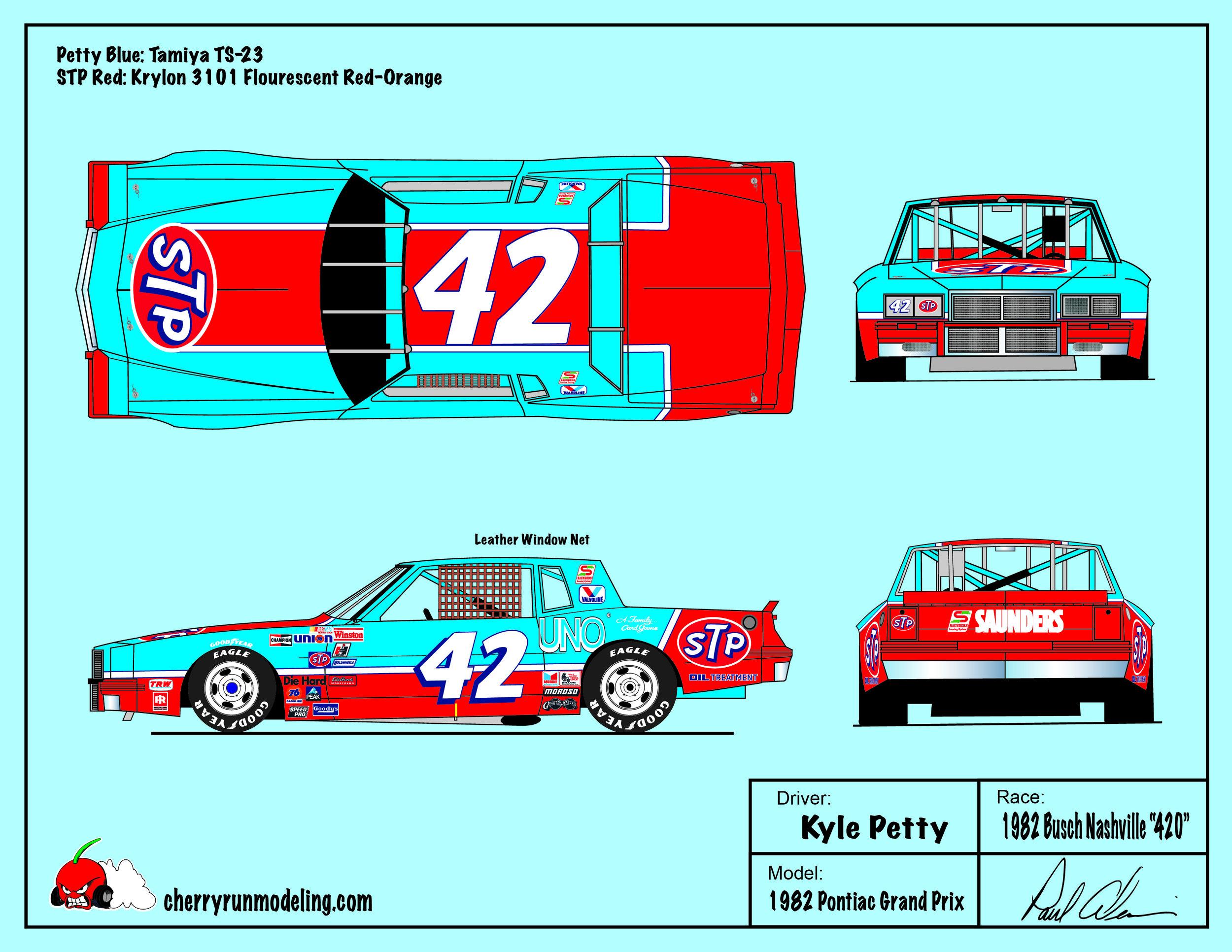 Kyle Petty 1982 Busch Nashville 420.jpg