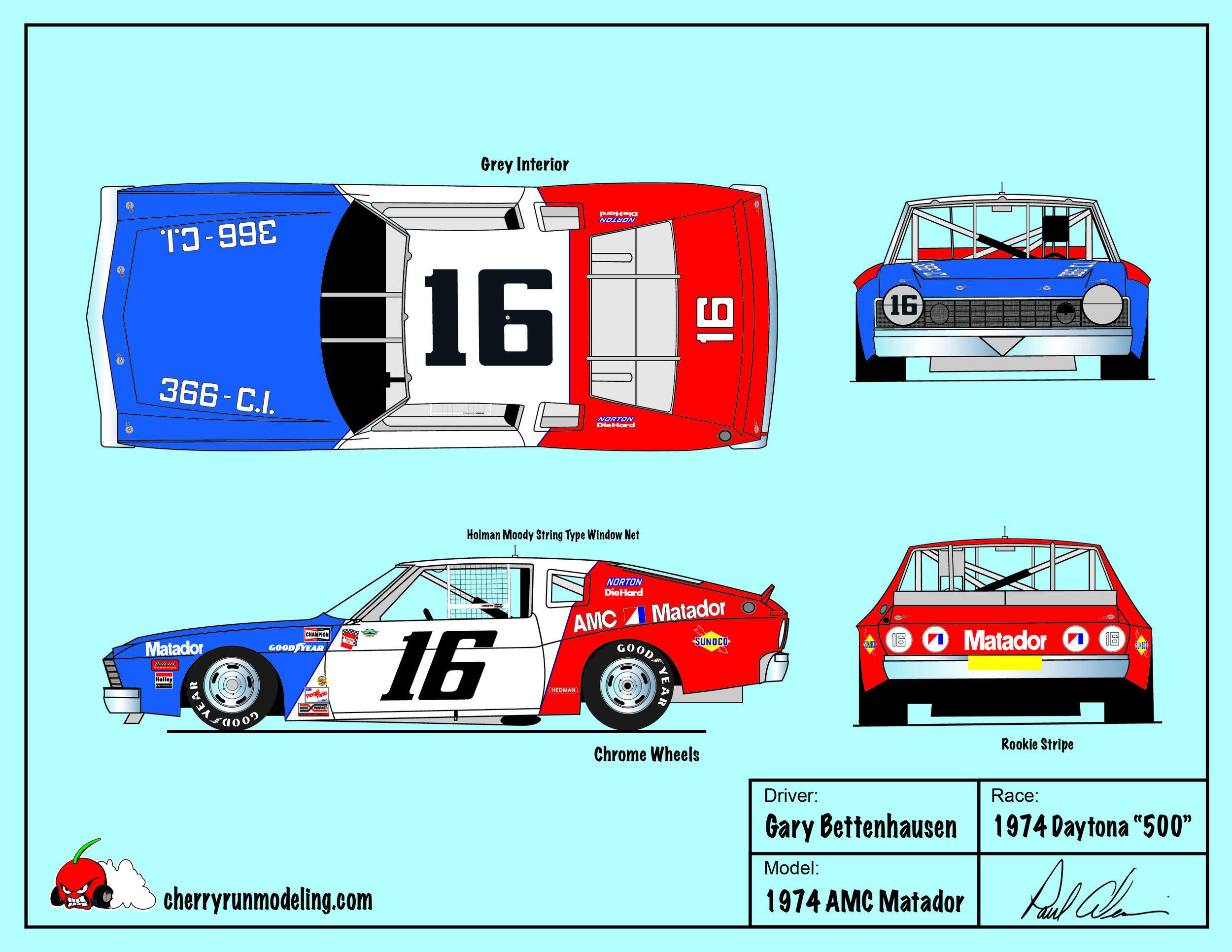 Gary Bettenhausen 1974 Daytona 500.jpg