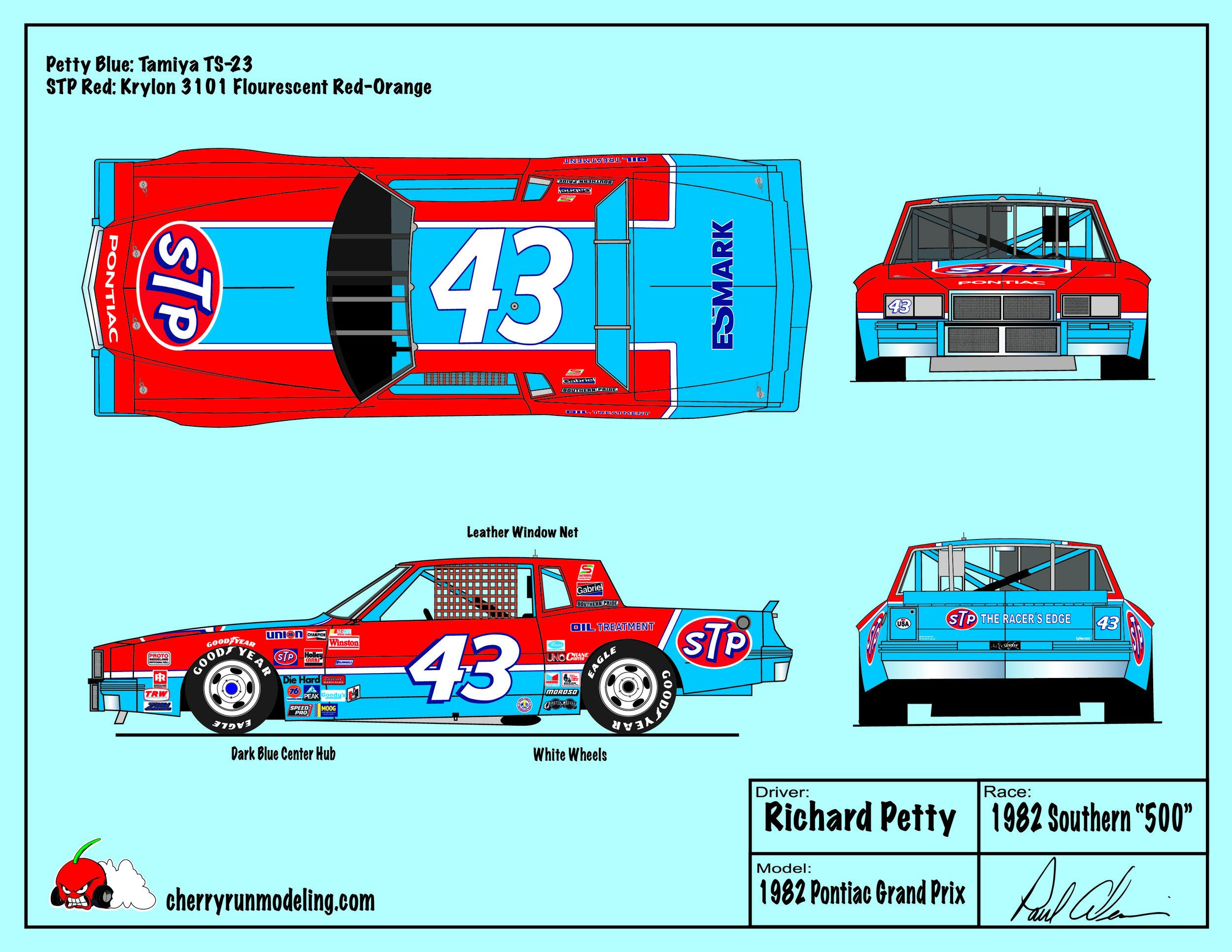 Richard Petty 1982 Southern 500.jpg