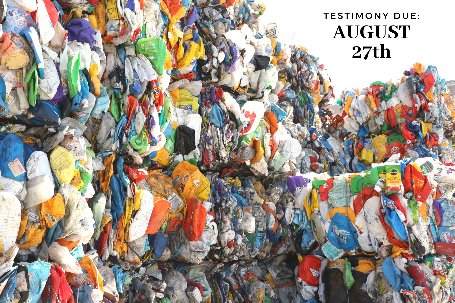 Want to see less waste? Now is the time to speak up. - Every 10 years, each county is required to update their Integrated Solid Waste Management Plan (ISWMP)—Honolulu's update is happening now and it's our time to weigh in! Public testimony is due August 27th!