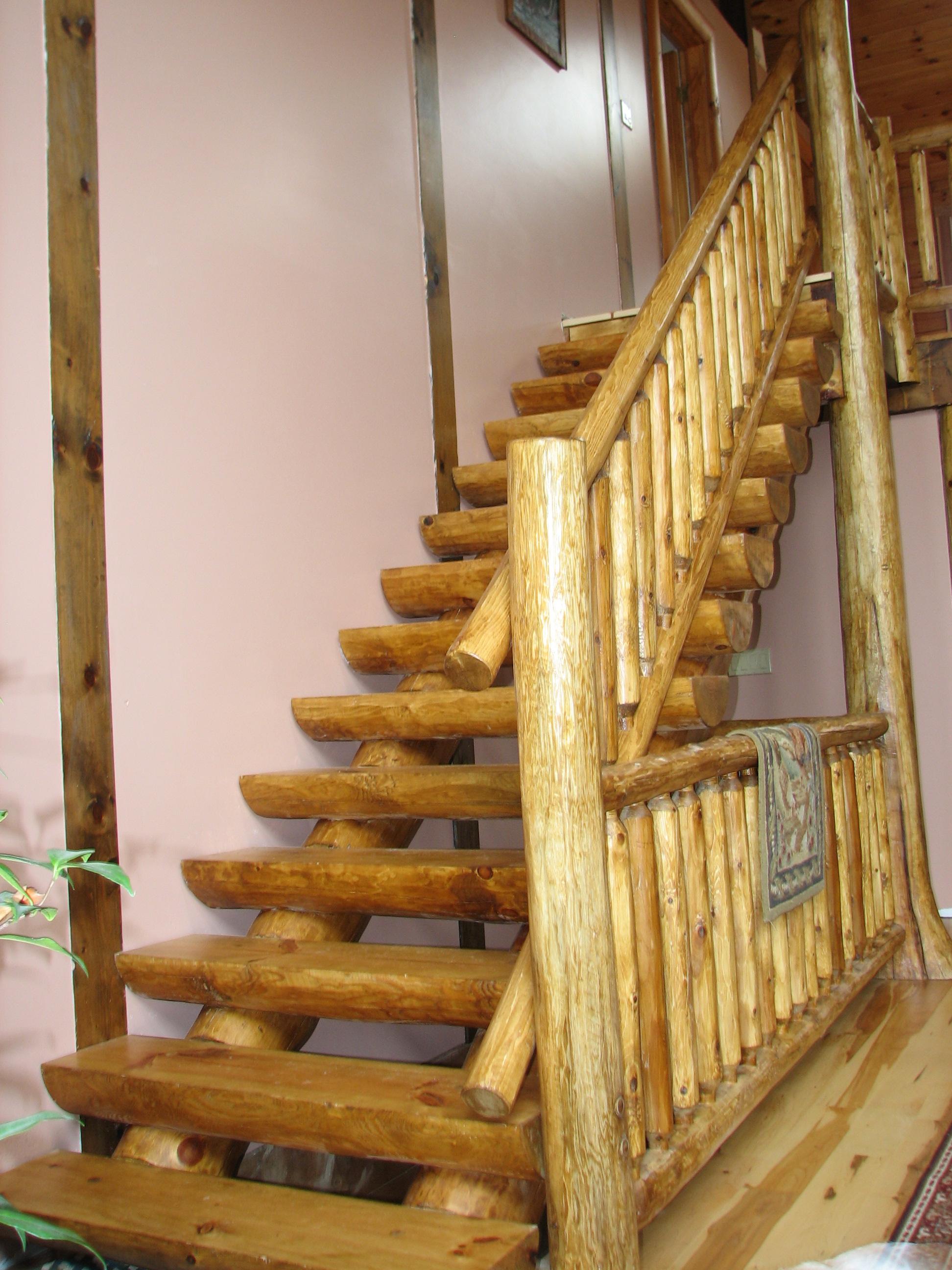 Full Scribe Log Stair v3