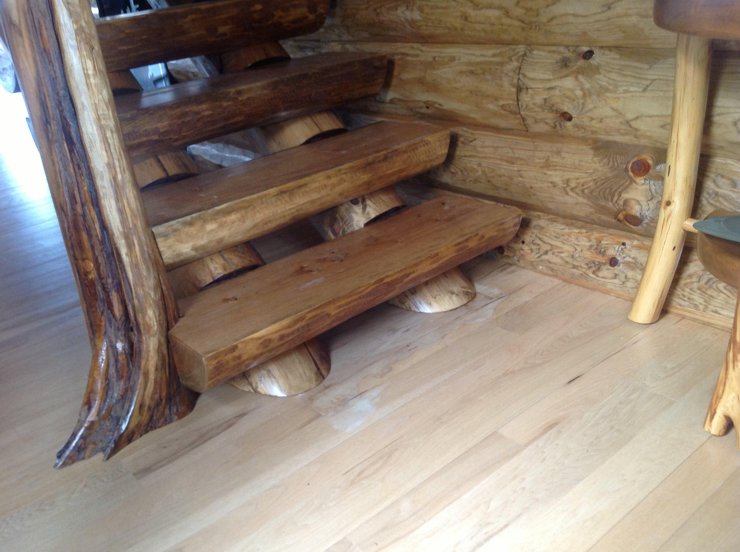 Full Scribe Log Stair v2