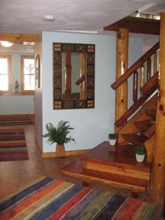 Mortise & Tenon Log Stair v3