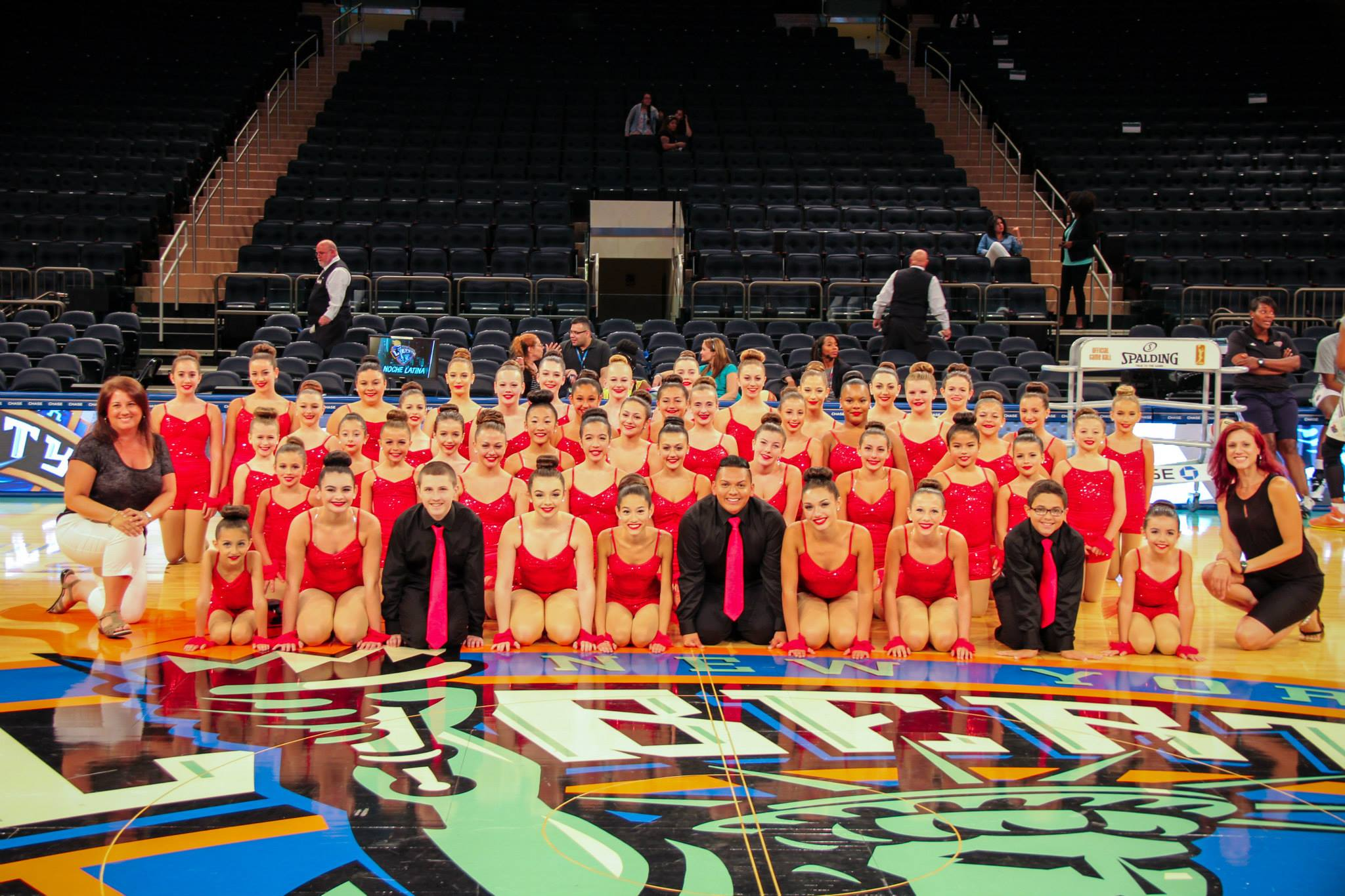 RCDC @ Madison Square Garden Halftime Performance 2014