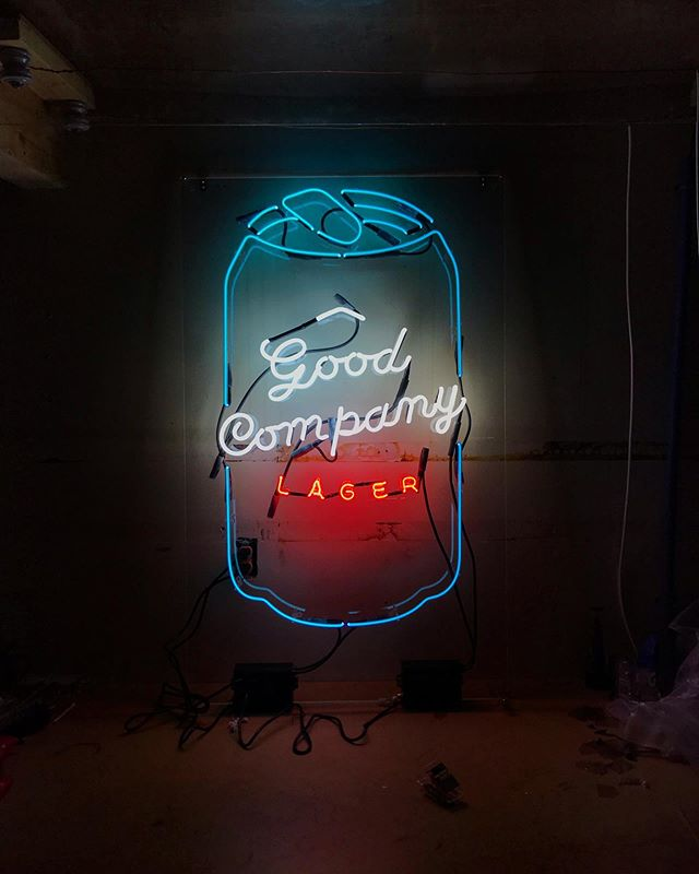 Good Company x Electric Neon ⚡️🍺