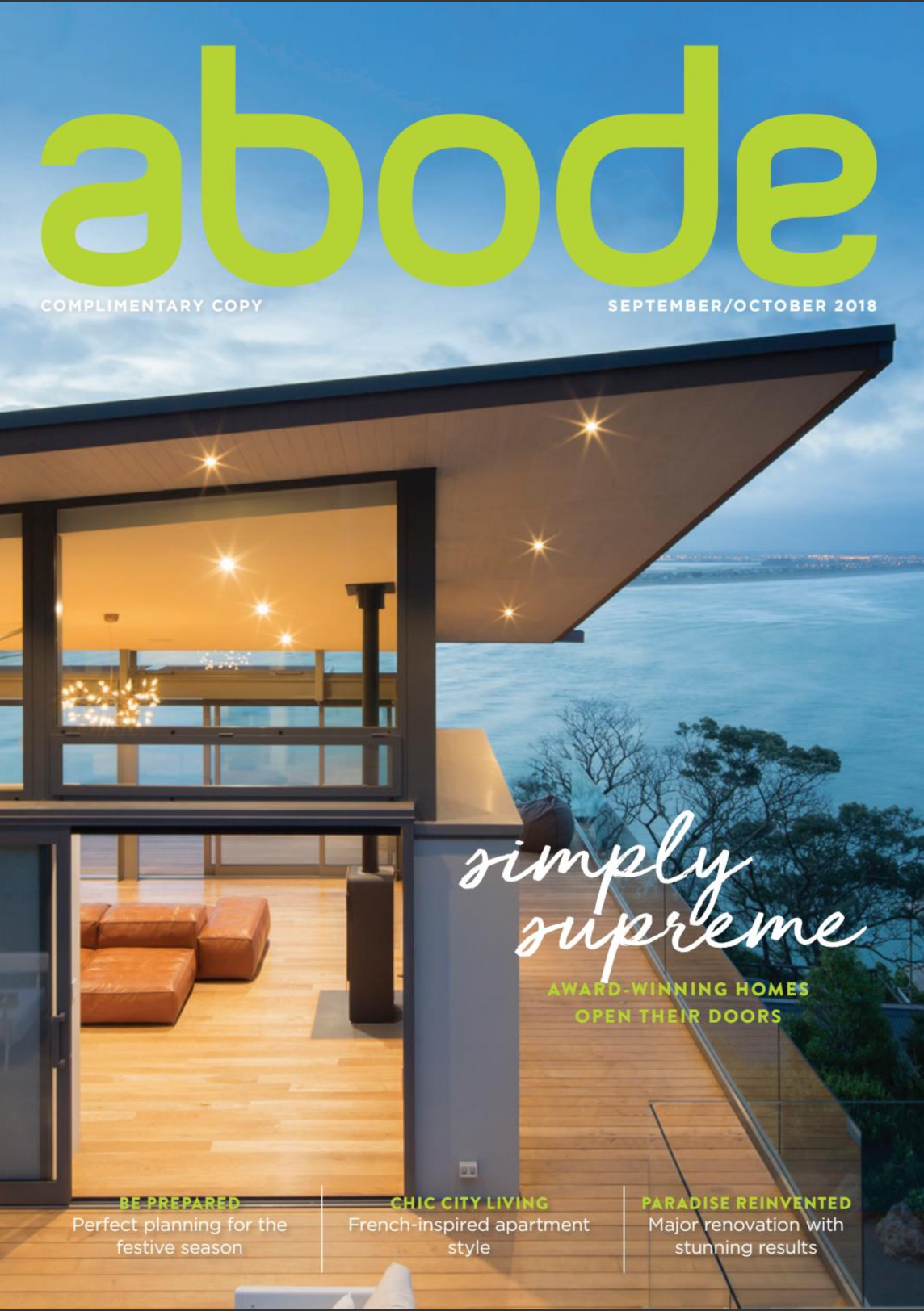 ABODE SEPTEMBER/OCTOBER 2018