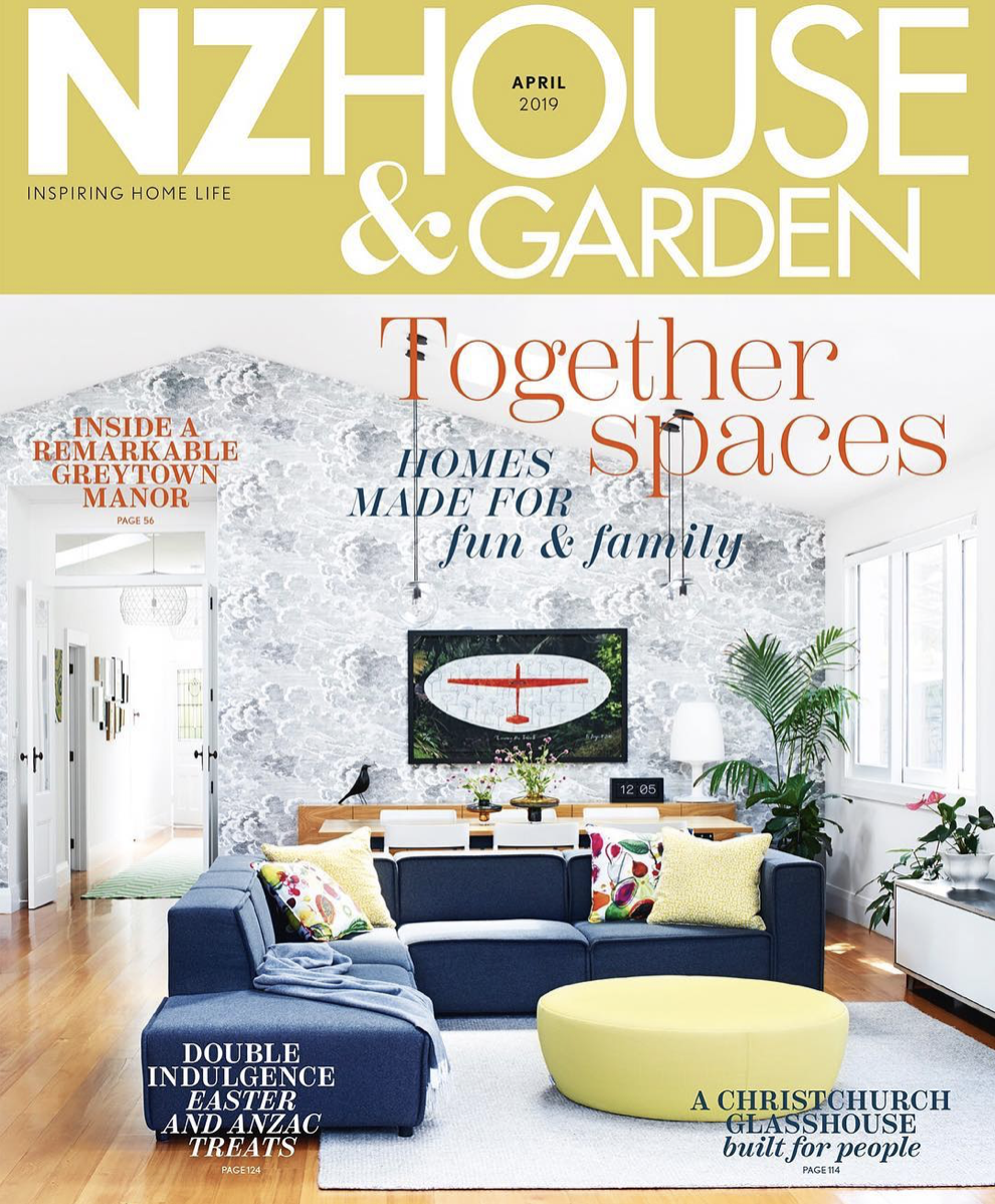 NZ HOUSE & GARDEN APRIL 2019