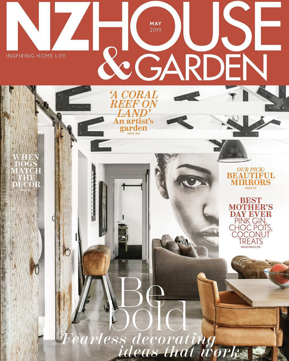 NZ HOUSE & GARDEN MAY 2019