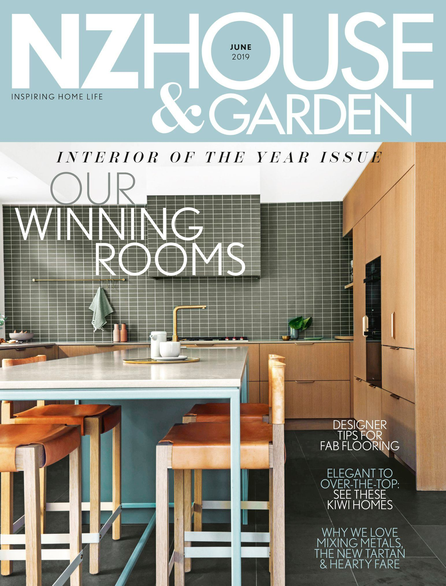 NZ HOUSE & GARDEN JUNE 2019