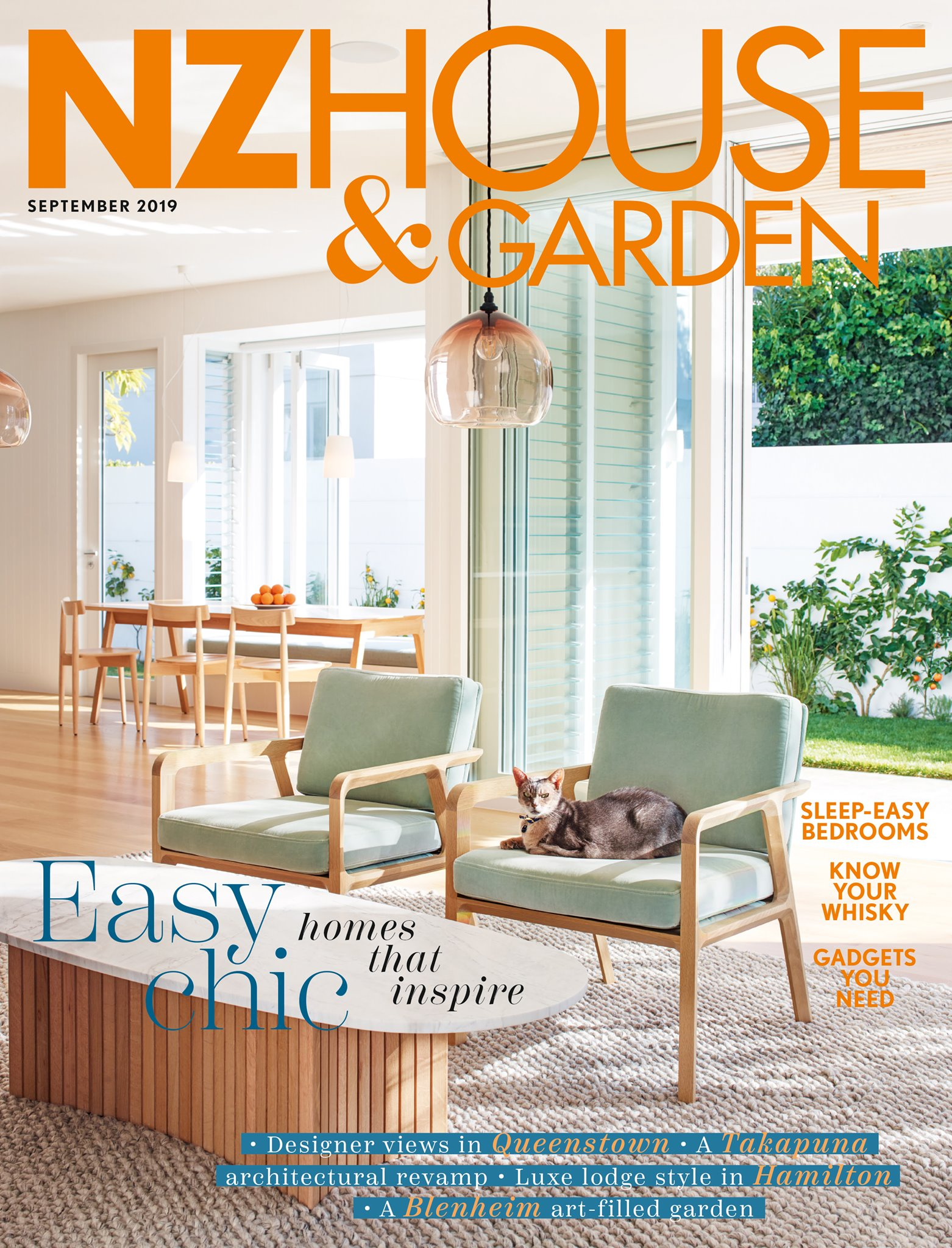 NZ HOUSE & GARDEN SEPTEMBER 2019