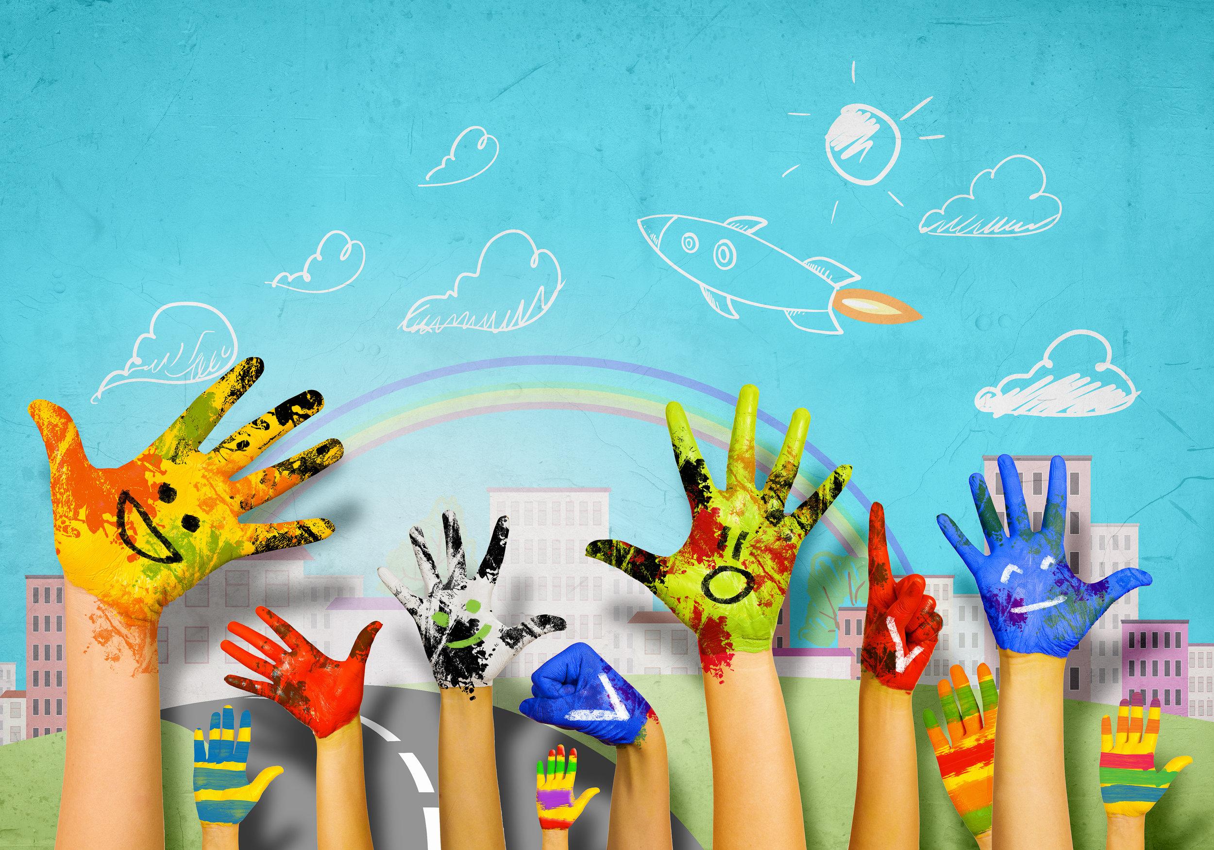 Kids Fine Arts Lending All Hands Project