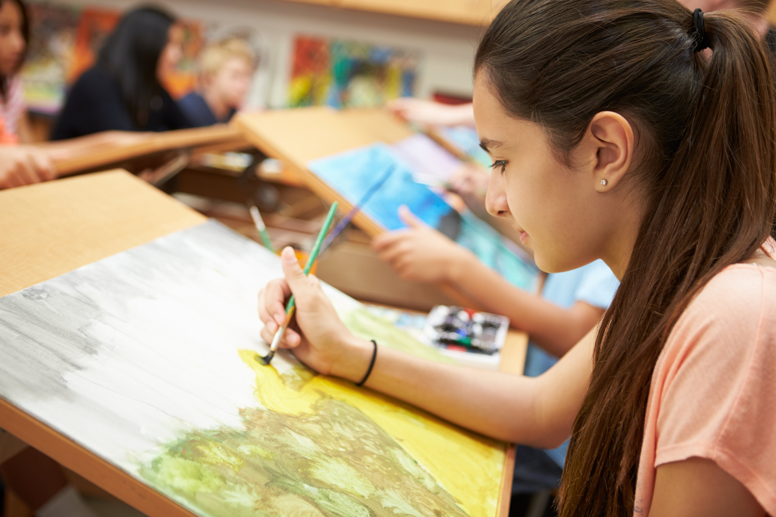 Painting, Drawing and Illustration Youth Classes