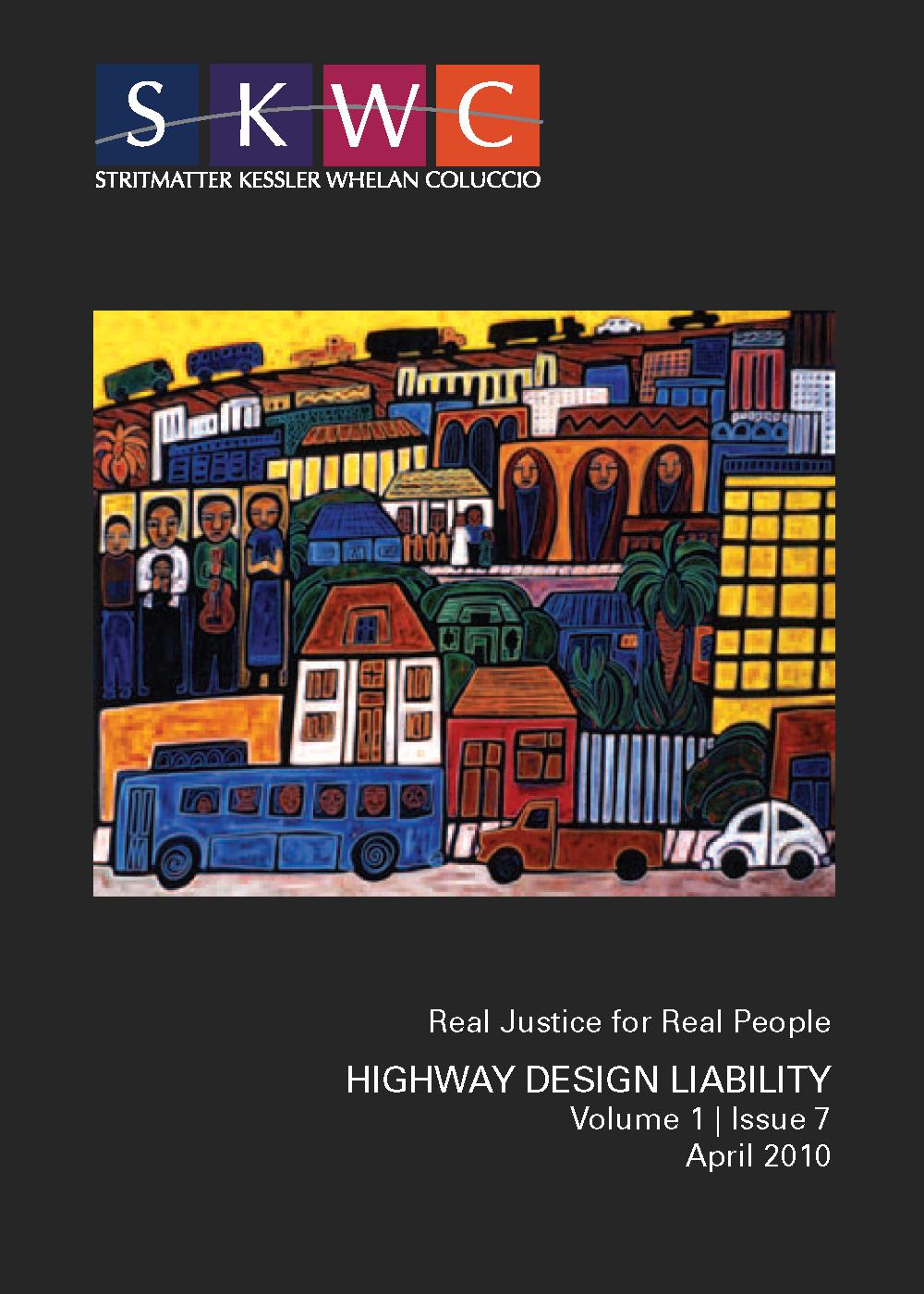 Highway Design Liability - Published April 2010