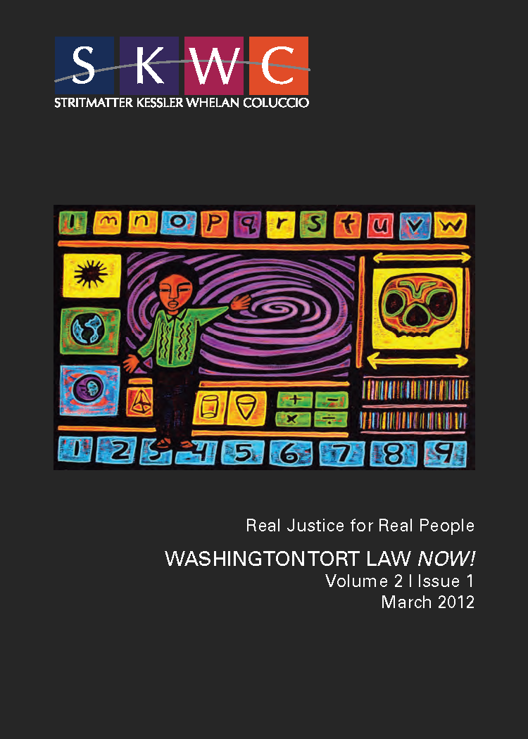 Washington Tort Law NOW! - Published March 2012