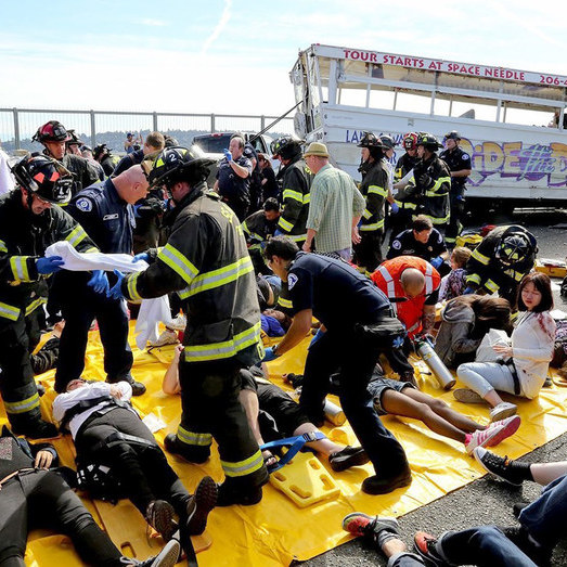 Mass Transit Disaster Response -
