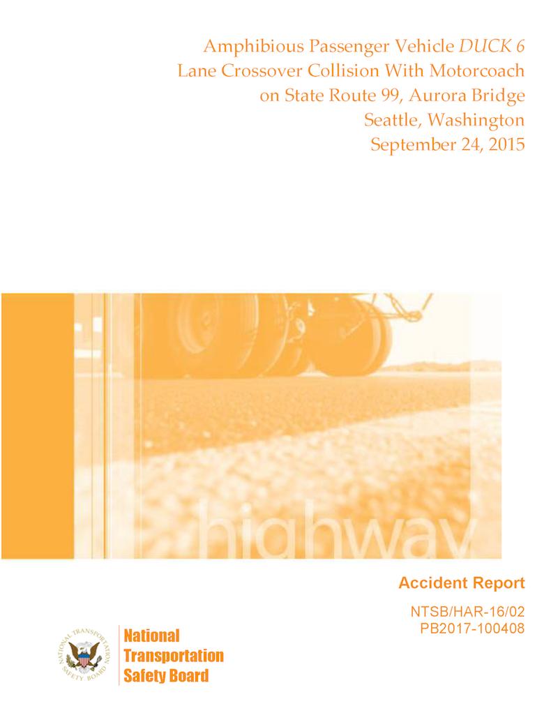 NTSB Report -