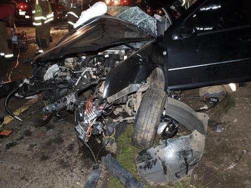 October 12, 2013 car accident.