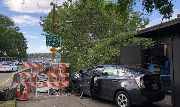 Seattle Uber collision near Canlis restaurant, killing one and injuring several people.