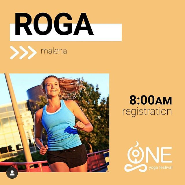 Kick off #OneYogaFestival2019 win #ROGA! @malenacaruso will lead you on a ~2 mile run along the Maumee River Waterfront.  Meet at the registration table on the upper level of Promenade Park at 8am!  Get tickets to @oneyogafestival at OneYogaFestival.com • #namasteintoledo #runnersloveyoga #runnersofinstagram #yogisofinstagram #run #toledo #runtoledo #youwilldobetterintoledo