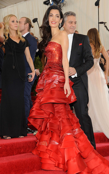 Amal Clooney attends the Met Gala