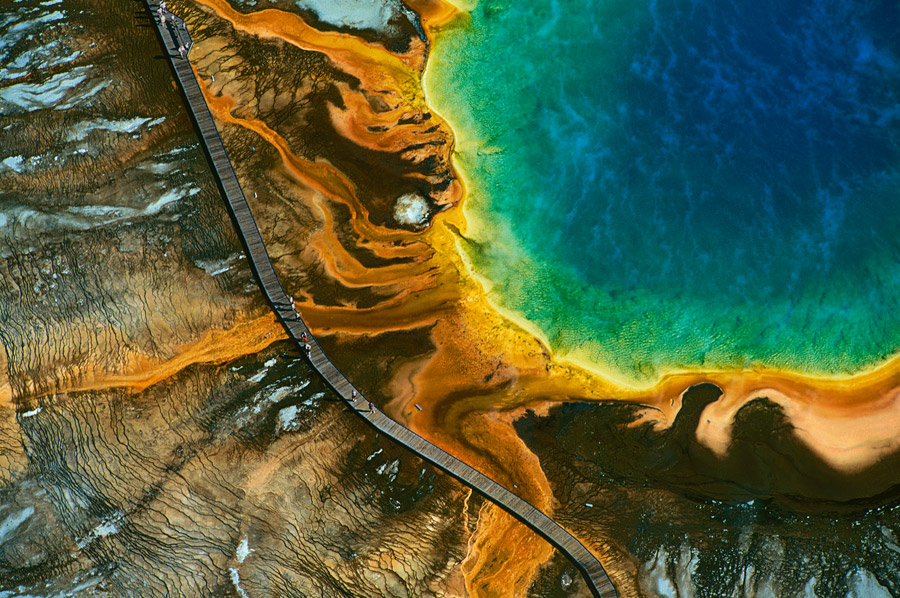 Earth From Above   Earth from Above is a United Nations-supported ecological project conceived and led by Yann Arthus-Bertrand.