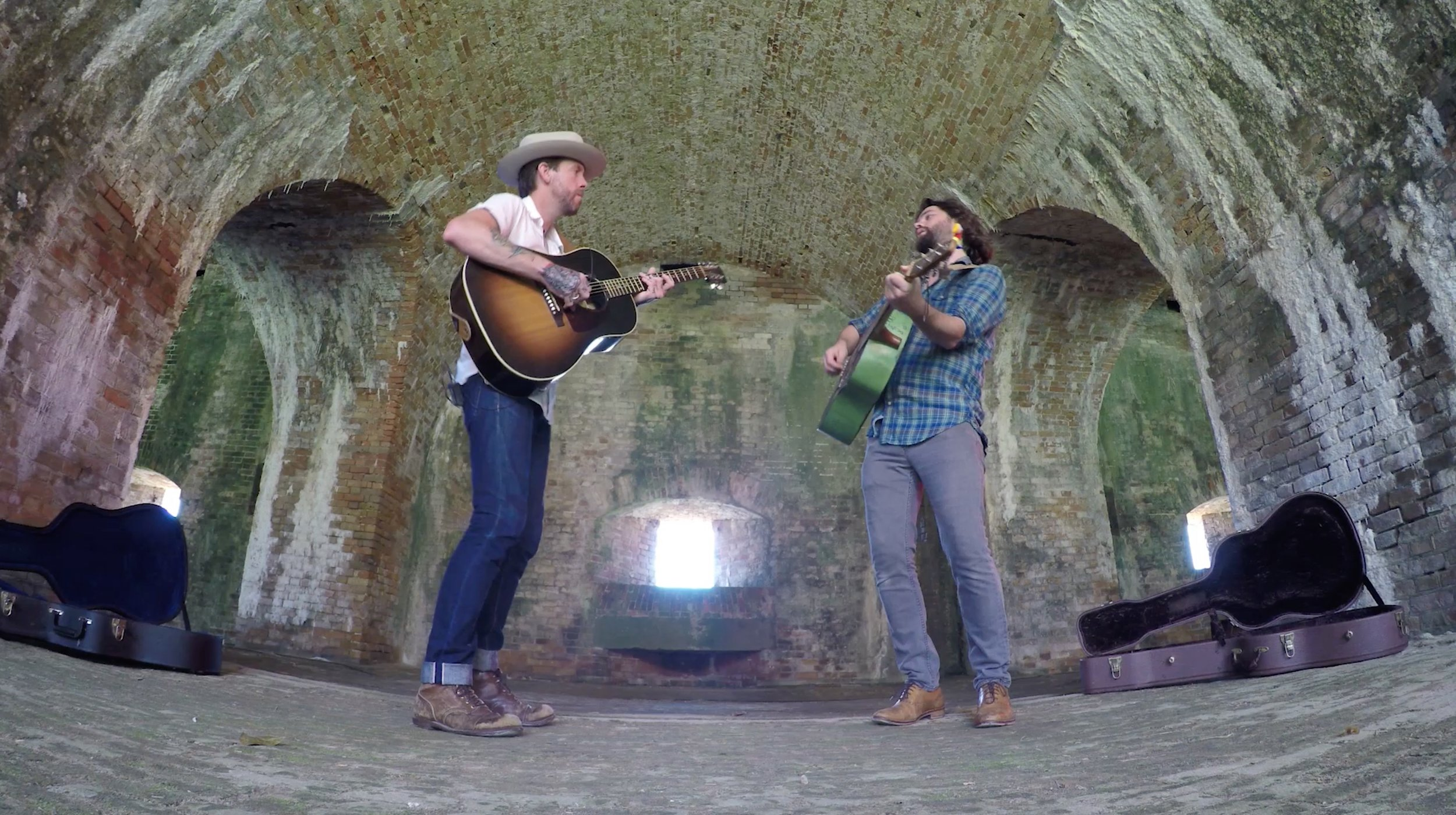 Jeremy Stanfill    &    Joshua Andrew Cosby    have been playing music together for years, most known for their work in the band    Star & Micey   . When they are home from the road they get together as a duo and play shows around town. Check them out Saturday December 8th at    Crosstown Brewing Company    from 4-6PM!