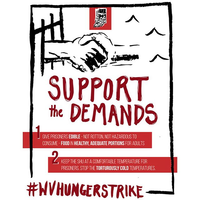 Call in! #WVHungerStrike