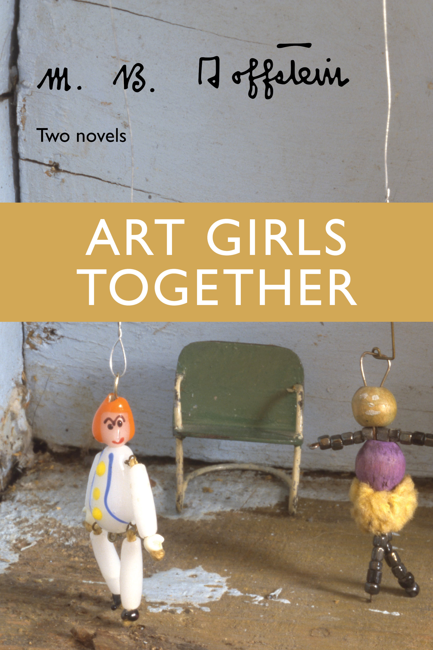 Art Girls Together book cover