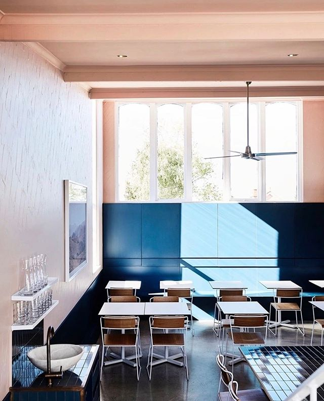 Awaiting the weekend rush. 📷 via @designbygolden. - -  #moby3143 #highstreet #armadale #interiors #melbournecafe