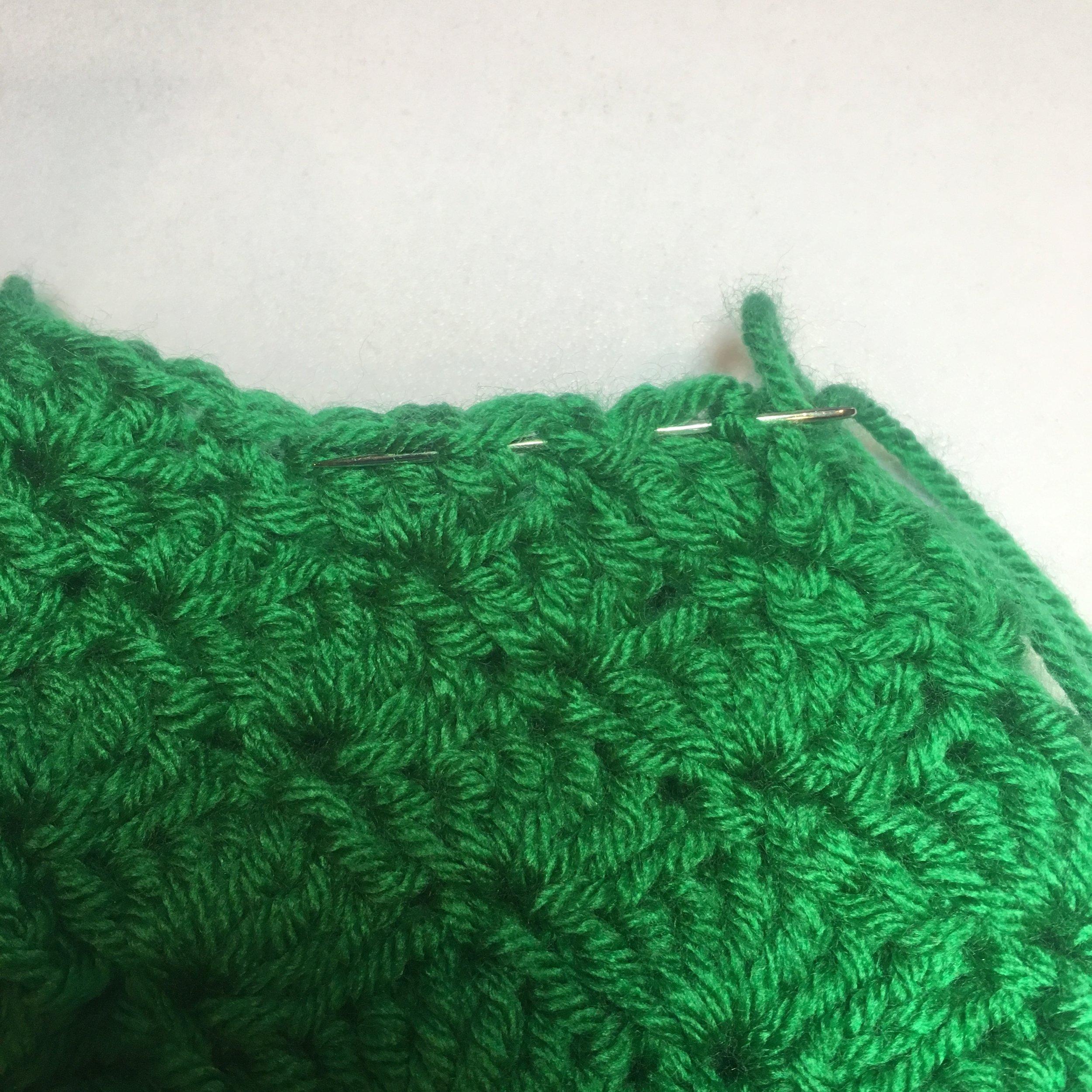 Weaving through top