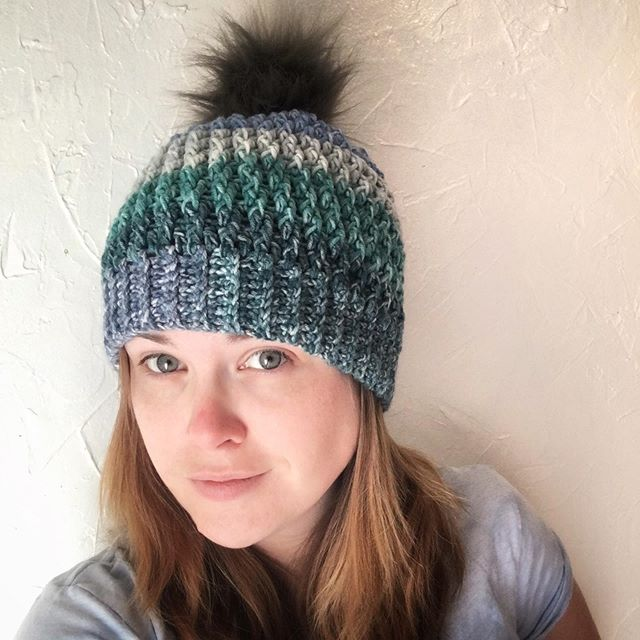 Hey y'all! This hat is gorgeous, and it needs a name! I'm working on getting the pattern fine tuned and then I'll be looking for a few people to test out this adult size before I get to the child and youth sizes of this lovely work. Let me know if you're interested! ❤️ •• Yarn: @lionbrandyarn #lionbrandmandalaombre -Mantra Pattern: unnamed by me! •• #lionbrand #handmade #crochetbeanie #patterntesterswanted #blue #mantra #crochet #yarn #pretty