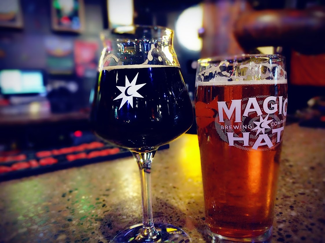 Magic Hat Brewery located in South Burlington Vermont.