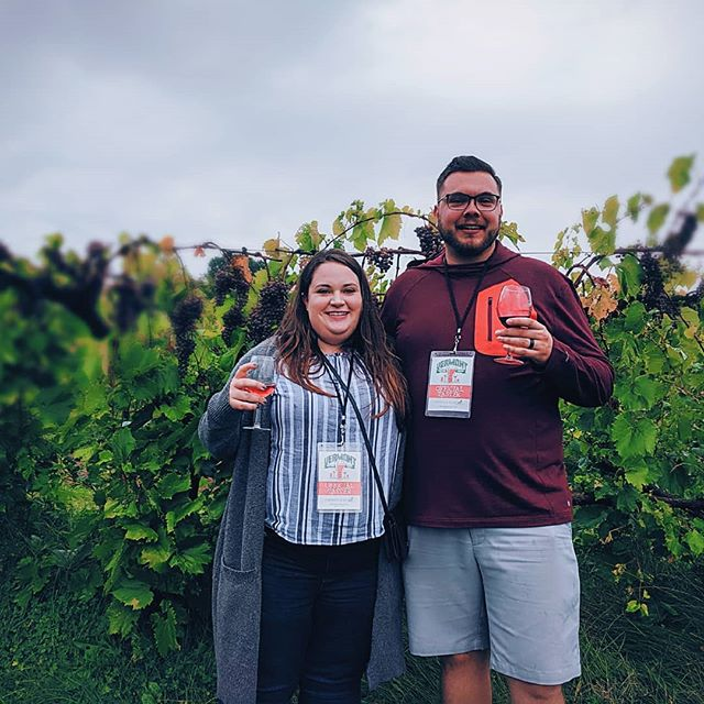 Rain or shine a tasting tour is a good time! Thanks Shanna and John for being our (fun) guests! #tastingtours #brewtour #winetasting #Vermont #vermonttourism #middleburyvt