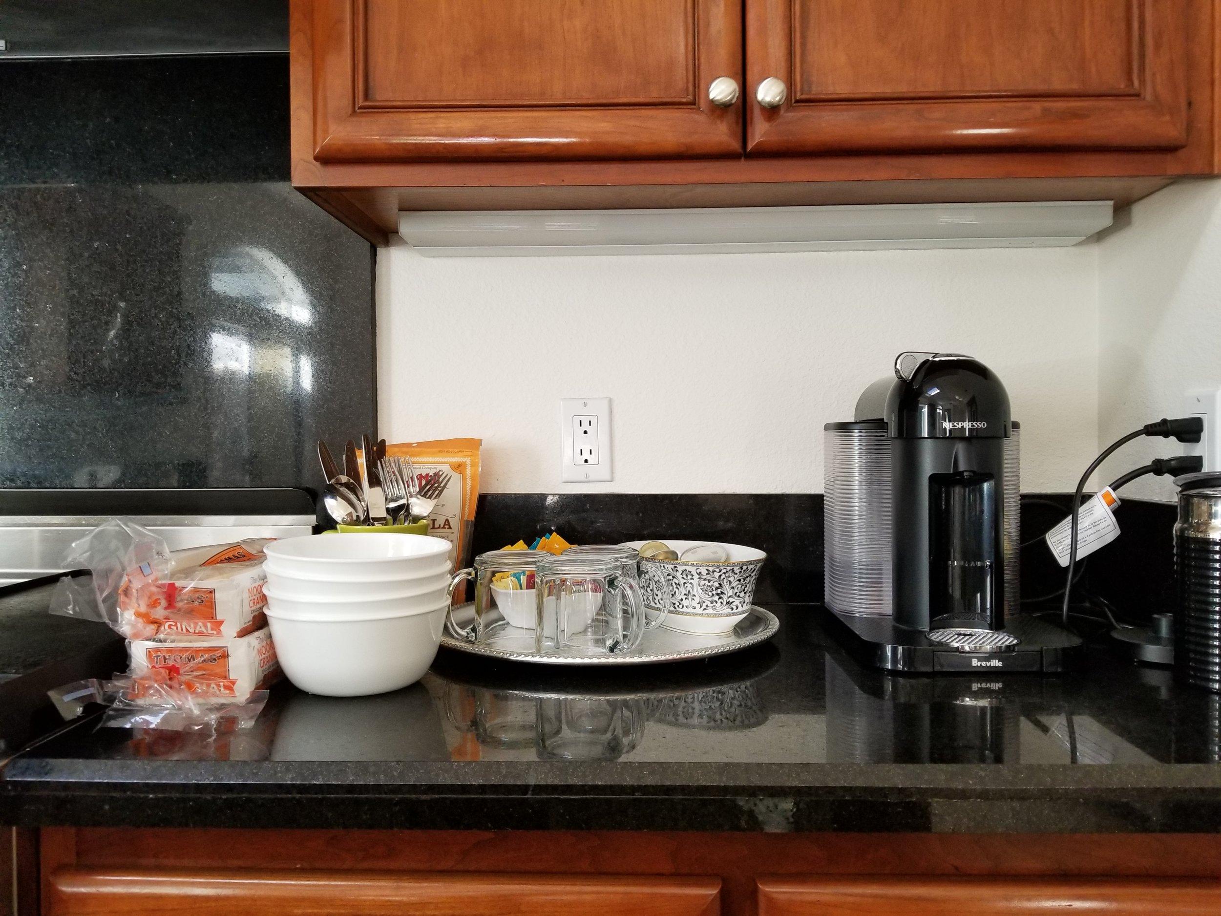 Breakfast awaits
