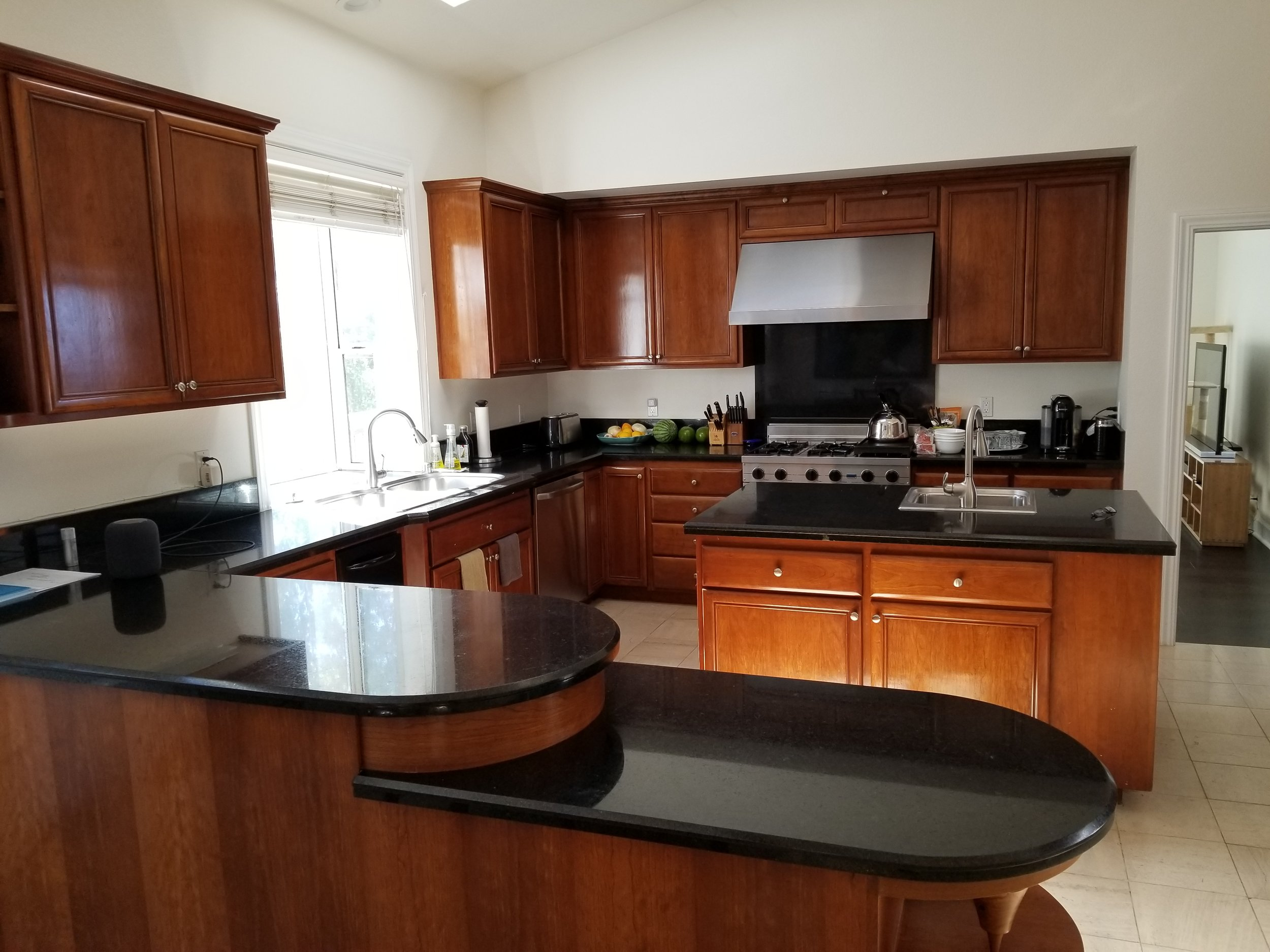 Very large gourmet kitchen