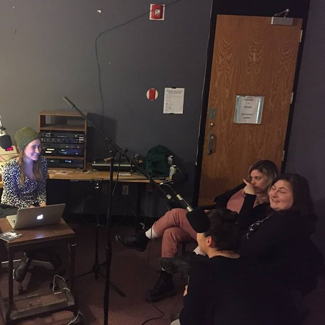 some shots at our interview with Caitlinn on her show Freshly Brewed.  Catch us all tonight at Zenbarn with Bella's Bartok at 9, and party hardy with us tomorrow at Rockwood Music Hall in NYC at MIDNIIIIGHT!