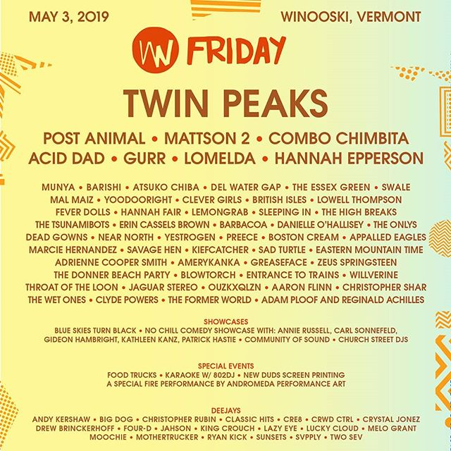 come see us and other phenomenal artists next Friday at the @wakingwindows 2019 festival! check out wakingwindows.com for event passes and to see all the cool showcases and special events for this three-day bender