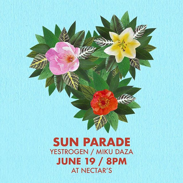 We! Are! So! Excited! @mikudaza @nectarsvt @thesunparade  #music #mikudaza #yestrogen #flowers #vermont #sunparade #burlington #nectars #love #show #flowers