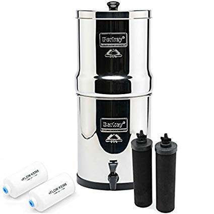 BERKEY Water Filters (filters over 200 contaminants)