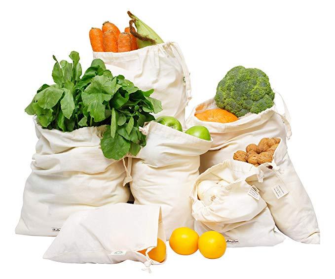 Organic Cotton Produce + Bulk Bags