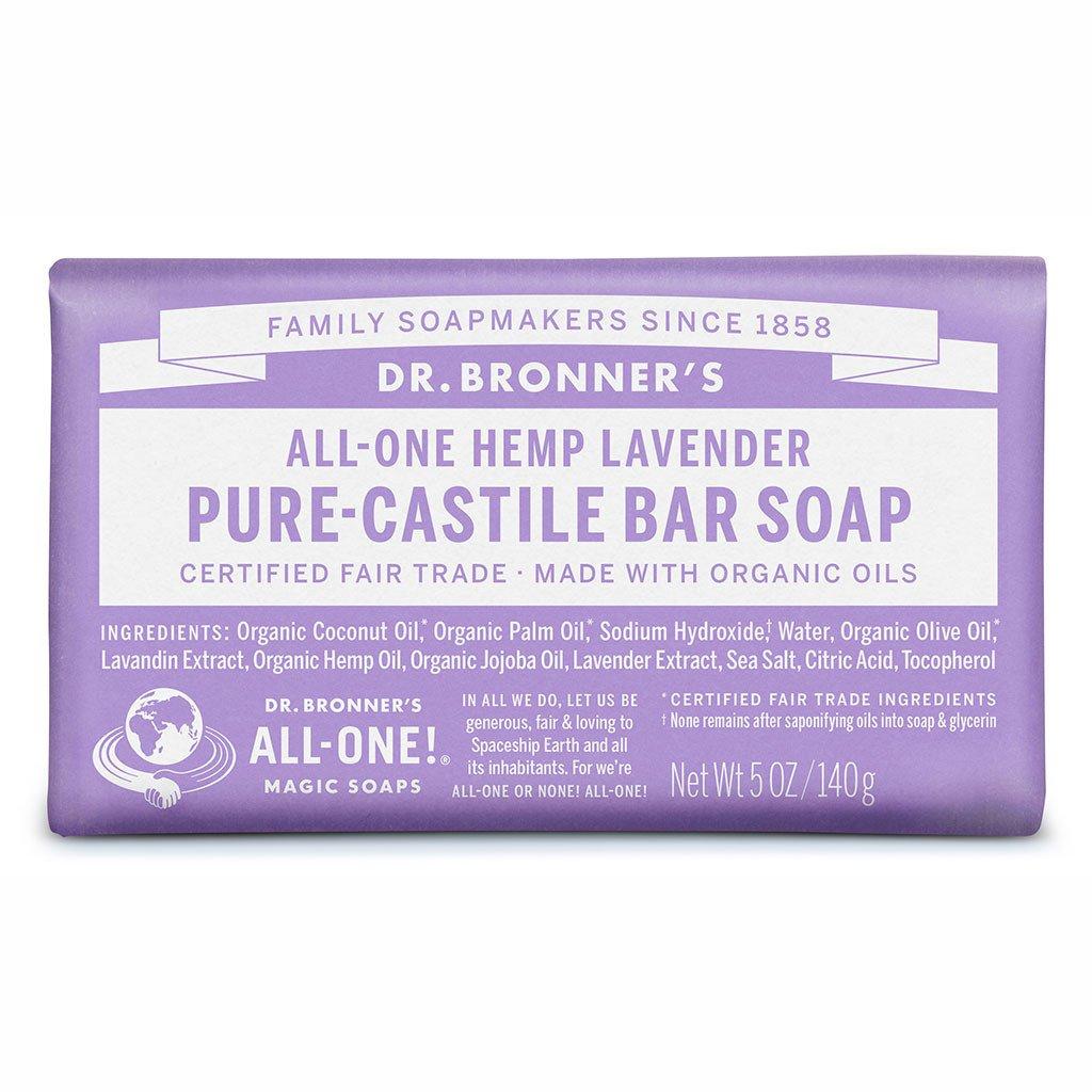 dr bronners lavender bar soap