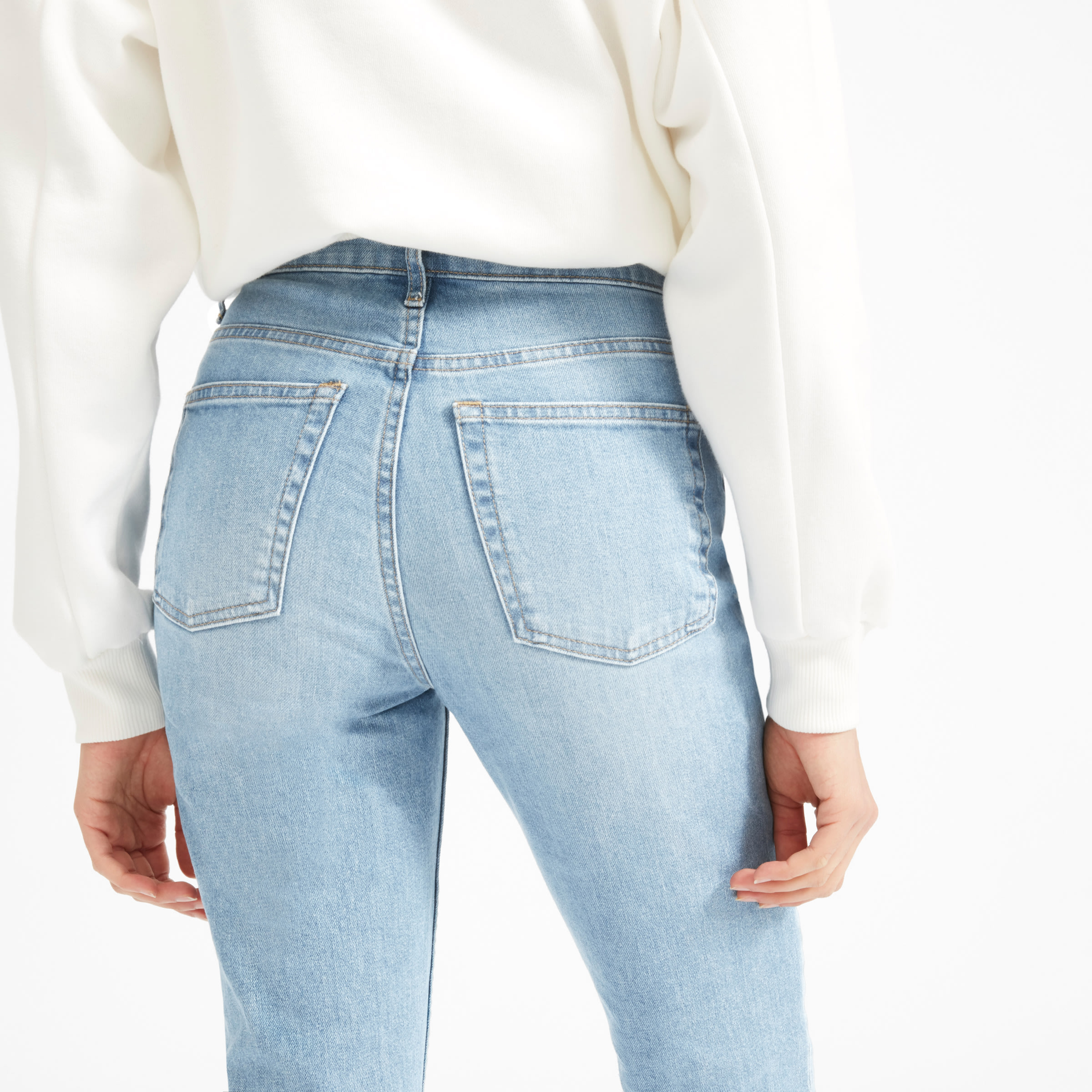 The Cheeky-Straight Denim - $78