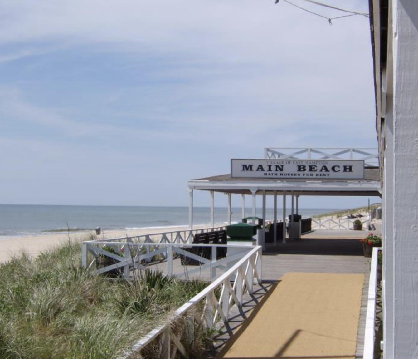 Main Beach   Popular East Hampton ocean beach provides lifeguards plus a snack bar & bathroom.  Telephone: 631-324-8158  101 Ocean Ave East Hampton, NY 11937